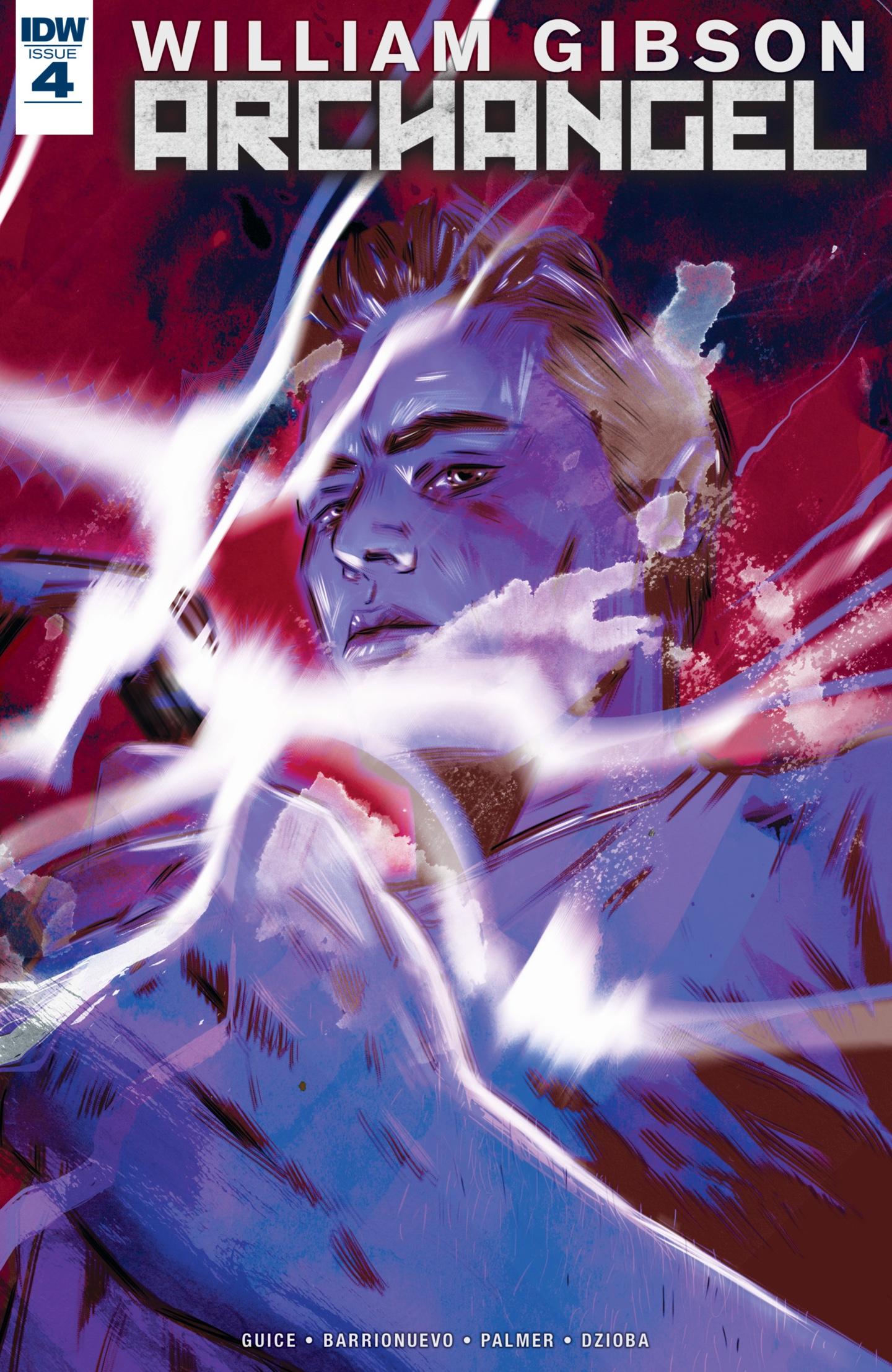 Couverture Archangel #4, image IDW
