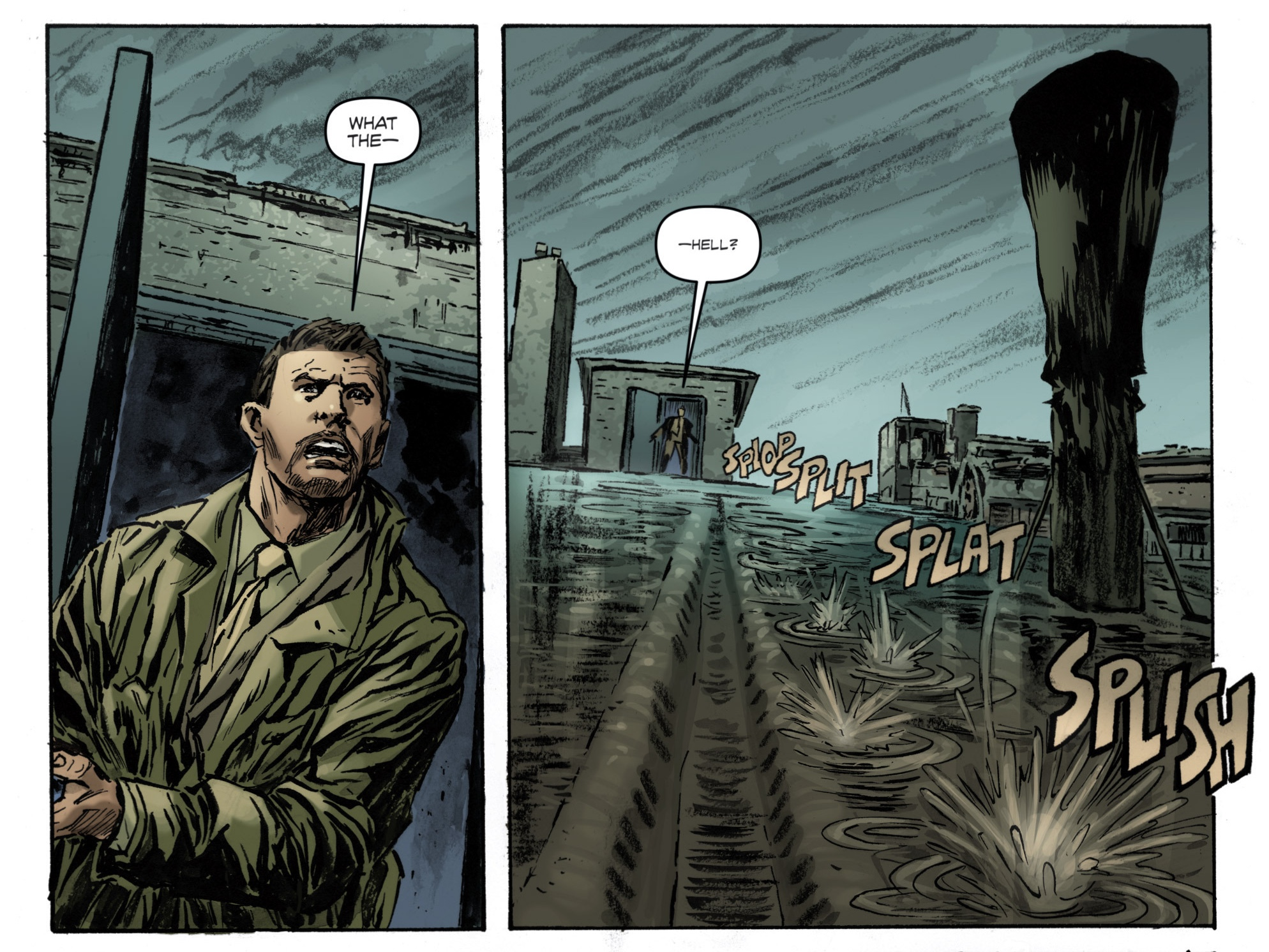 Extrait Archangel #2, page 9, image IDW